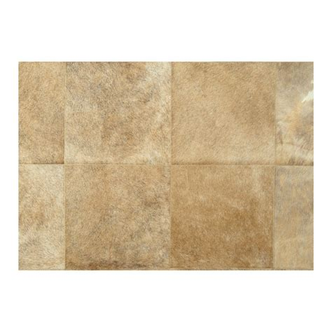 Cowhide Rug Patchwork - patchwork cowhide brown carpet rug handmade by furhome