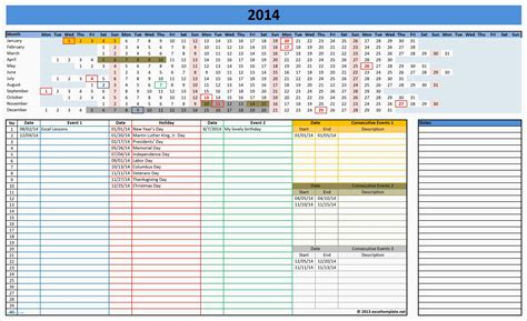 template weekly planner excel best of weekly calendar excel templates calendar