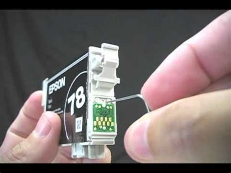 epson chip resetter youtube reset do cartucho de tinta da epson youtube
