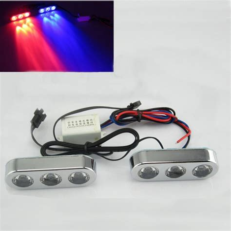 led strobe lights for motorcycles 12v car motorcycle led brake driving strobe flash