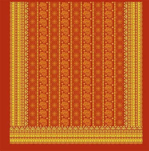 Batik Batik Riau ciri khas motif melayu riau fabric