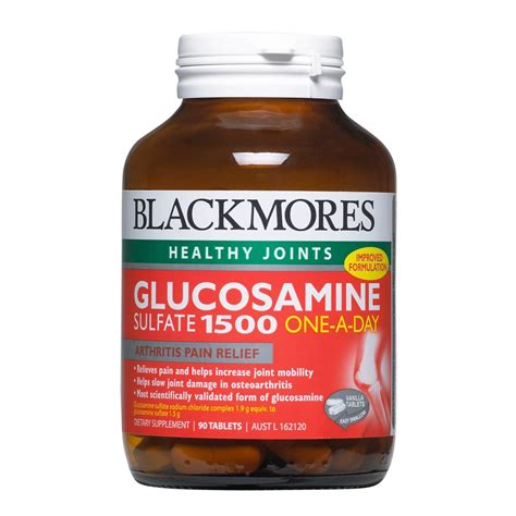 buy glucosamine sulfate 1500 90 tablets by blackmores