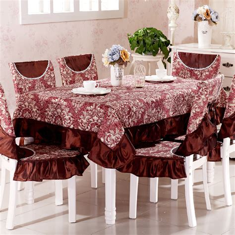 Dining Table Chair Covers Top Grade Square Dining Table Cloth Chair Covers Cushion Tables And Chairs Bundle Chair Cover