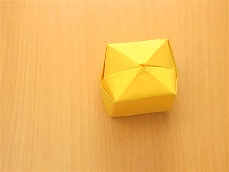 How To Make A Paper Block - paper origami cube comot