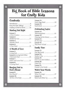 One stone biblical resources big book of bible lessons for crafty