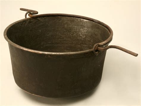 Antique French Copper Cauldron now in stock @ Old Plank