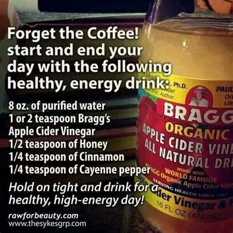 6 energy drinks in 1 day the 25 best braggs apple cider ideas on apple