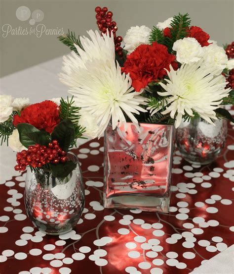 bedroom christmas table centerpieces decoration with