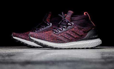 Sepatu Adidas Ultra Boost Atr Mid Maroon Burgundy Premium Quality Burgundy Covers The Next Adidas Ultra Boost Atr Mid