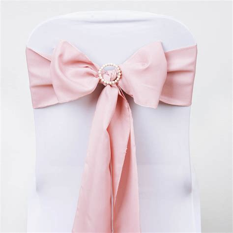 Wedding Chair Bows by 20 Polyester Chair Sashes Ties Bows Wedding Ceremony