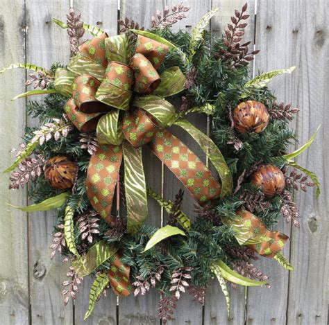 images of unique christmas wreaths unique wreath holiday wreaths brown and green christmas
