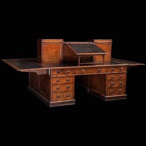 Partner Desk by Dickens Partners Desk At 1stdibs