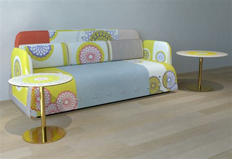 Funky Living Room Furniture Eclectic Living Room Furniture By Moroso Button Collection