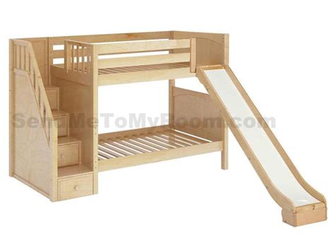 Bunk Bed With Stairs And Slide Stellar Medium Bunk Bed With Slide And Staircase Boys Room Pinterest Bunk Bed And Staircases