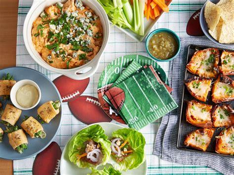 pretend party play super bowl appetizer ideas healthy super bowl recipes food network super bowl