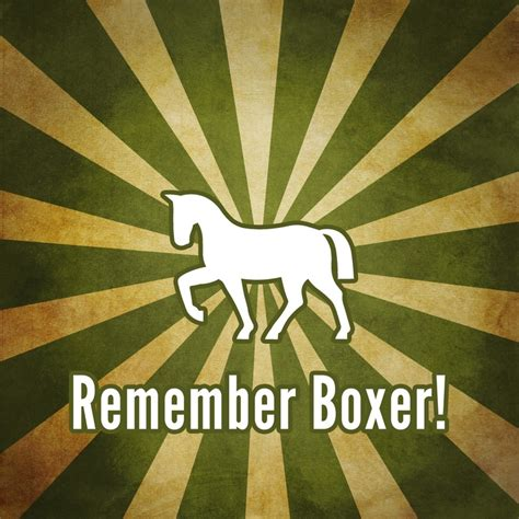 boxer animal farm george orwell quotes quotesgram