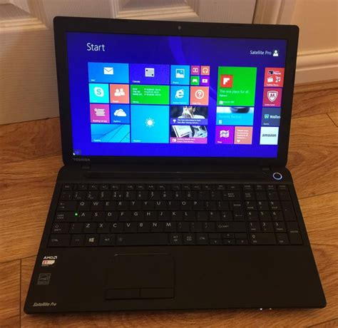 toshiba satellite pro windows 8 1 laptop 4gb ram 500gb hdd wolverhton dudley