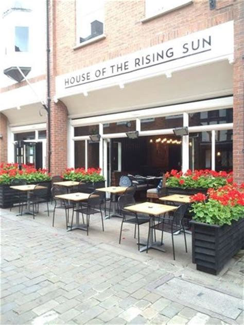 house of sun menu front of restaurant picture of house of the rising sun shrewsbury tripadvisor