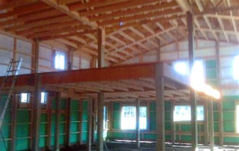 Monitor Style Barn Plans by Pole Building Framing Photos Steve Cain Construction Inc Residential Industrial