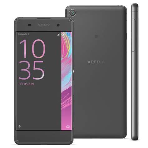 Android Sony Ram 2gb smartphone sony xperia xa f3116 preto 16gb tela curva