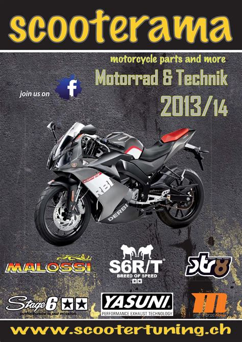 Motorrad Technik by Motorrad Technik Katalog Scooterama 2014 By Scooterama
