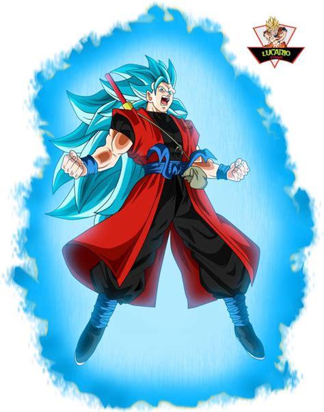 goku xeno ssj blue  lucario strike  deviantart dragon ball dragon ball  dragon ball gt