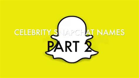Lookup Snapchat Name Snapchat Names Usernames Part 2