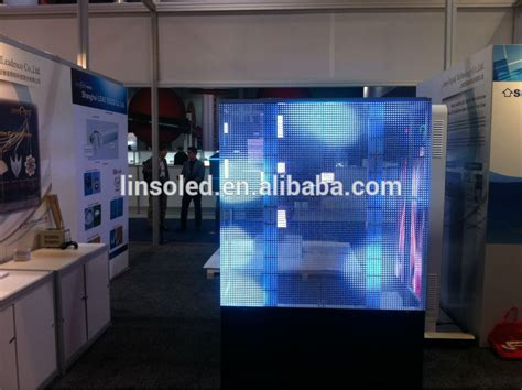 Shenzhen Linso New Deisgnedtransparent Led Screen Outdoor