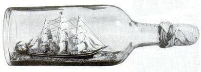boat in a jar drawing 45 hobbies for men