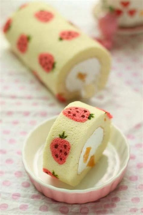 cute desserts cream cute dessert strawberry image 730792 on favim com