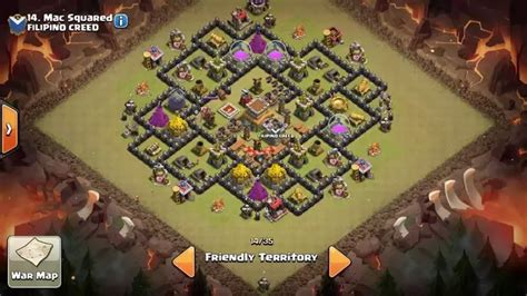 coc layout anti gowipe th8 is there any best anti dragon anti hogs and anti gowipe
