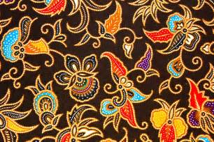 Balinese Home Decorating Ideas batik is art painting on cloth native indonesia crafts