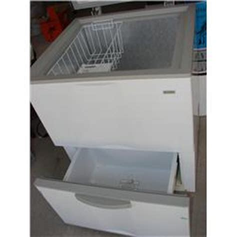 kenmore small chest freezer w bottom drawer