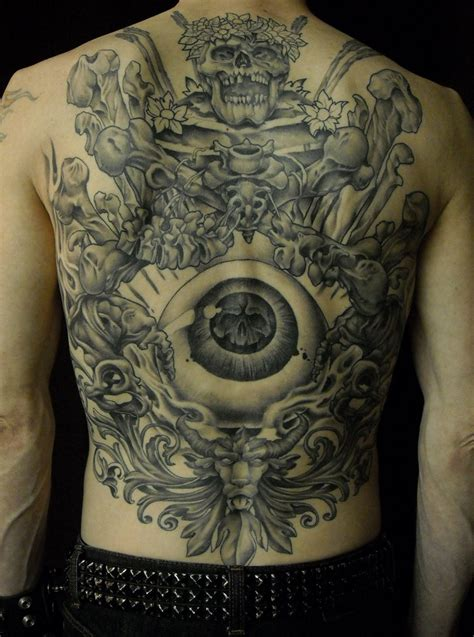 cool back tattoos the all seeing eye ideas cool back