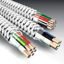 10 2 mc cable od armored cable mc bx united electric
