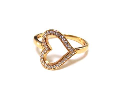 sideways ring 14 kt gold 925 sterling silver