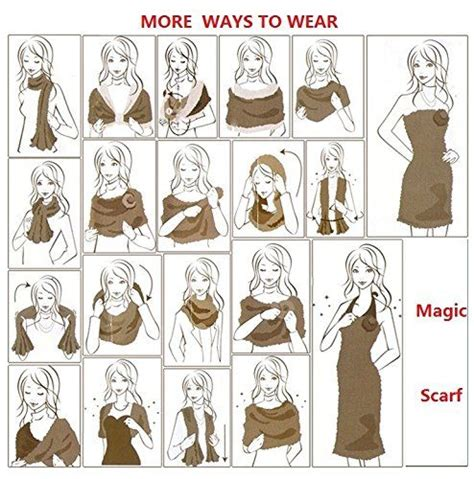 amazing scarf 26 ways to wear it