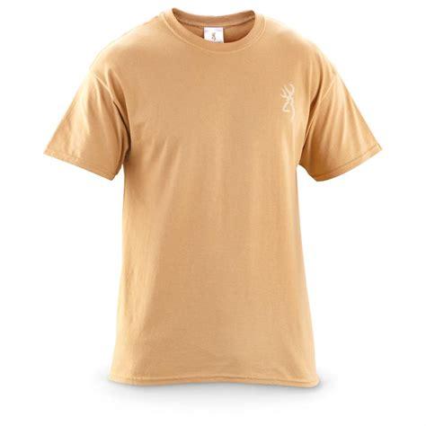 T Shirt Camel browning morning mist sleeved t shirt camel