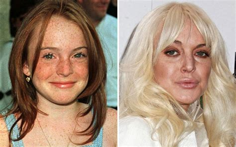 Who Is Lindsay Lohan Fing Now by 24 Horribly Aged Page 13 Of 24 Celebsdaily Co