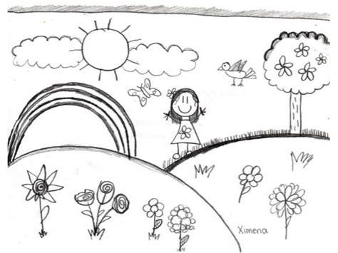 imagenes para dibujar faciles de la primavera taller de creatividad primavera 2011 dibujo