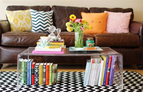 coffee table styling how to style a coffee table the everygirl