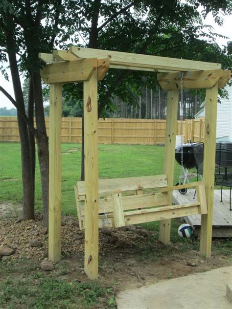 trellis with swing 25 best ideas about arbor swing on pinterest outdoor