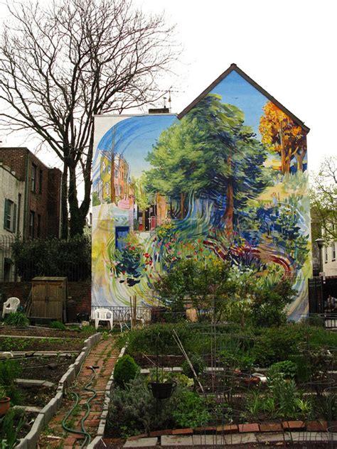 creative large scale street art murals designbump