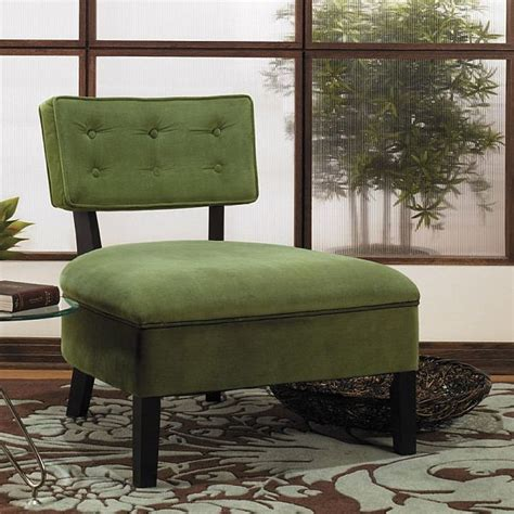Small Slipper Chair Design Ideas The Cozy Button Back Slipper Chair