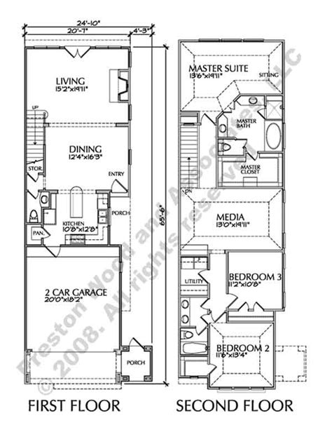 townhouse plans for sale two story townhouse floor plan
