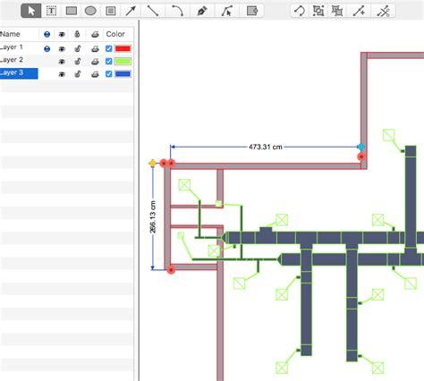 hvac floor plan creating a hvac floor plan conceptdraw helpdesk