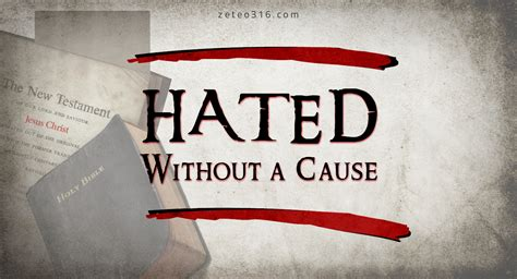 The Hated hated without a cause zeteo 3 16