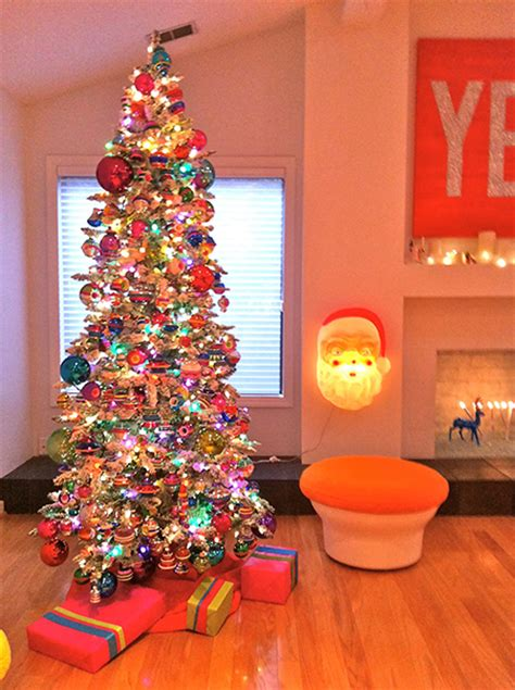 vintage aluminum christmas trees  favorite holiday eye candy modern charlotte nc homes