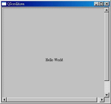 qt layout scrollbar live man 使用qscrollarea來控制元件