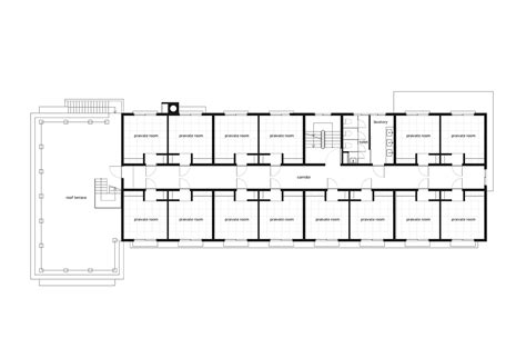 Large House Floor Plan Gallery Of Share House Funabashi Kasa Architects 21